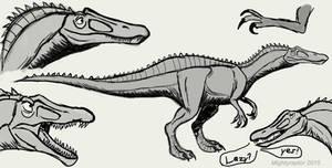 Crocodile mimic