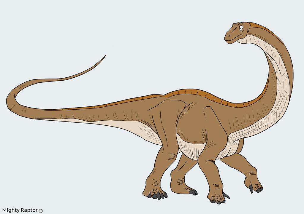 Apatosaur concept by MightyRaptor on DeviantArt