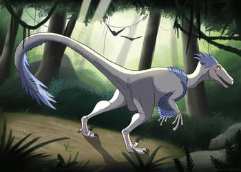 Mysterious Albino by MightyRaptor
