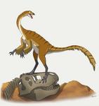 Dinovember # - 6 Gallimimus