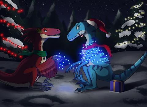 Lights! Gifts! Mistletoe?