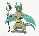 Dragonvale Reignited: Minic Druid by MightyRaptor
