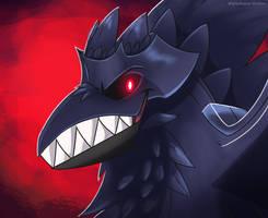 The Dark Knight Bird by MightyRaptor
