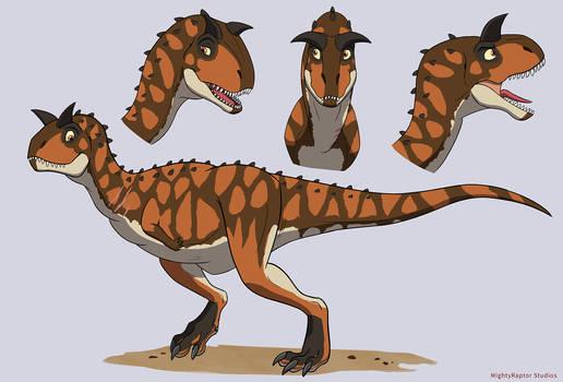 Theodore The Carnotaurus