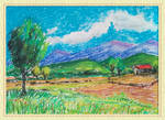 landscape in soft pastels by coolstrator