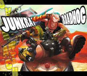 Best Bros Junky and Road (Overwatch)