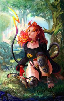 Art Trade: Thora of Asgard