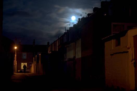 Moonlit Backstreet - rough