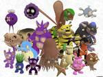 Spore Pokemon