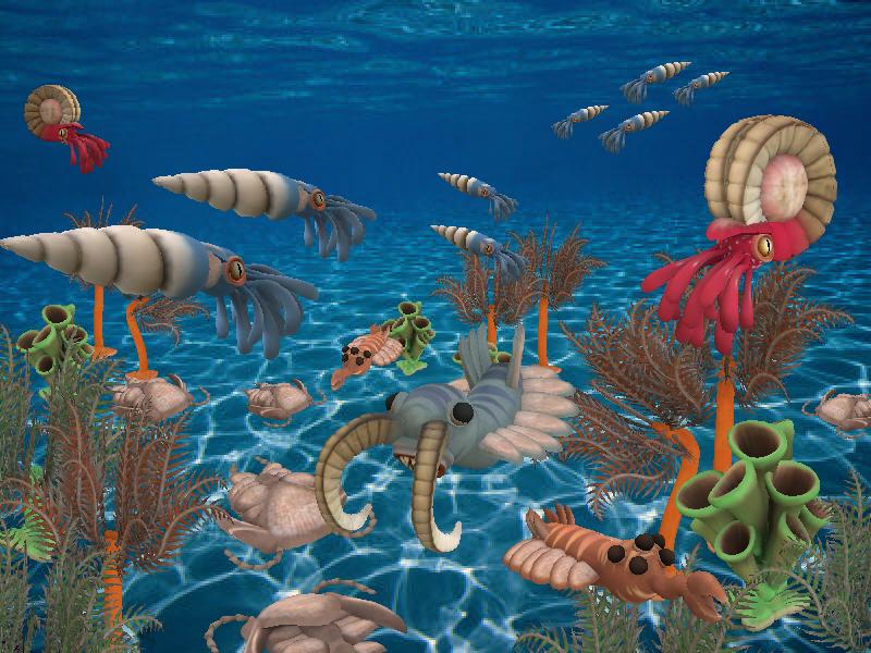 Paleozoic Era Spore