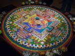 Chenrezig Sand Mandala