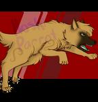 [Art Trade w/KennyClaws] Angry Doggo by rainsioo