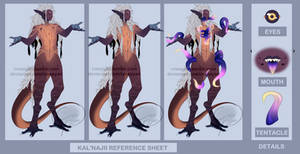 Kal'Najii Reference Sheet