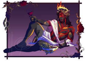 A Daedra Named Desire [COMMISSION]