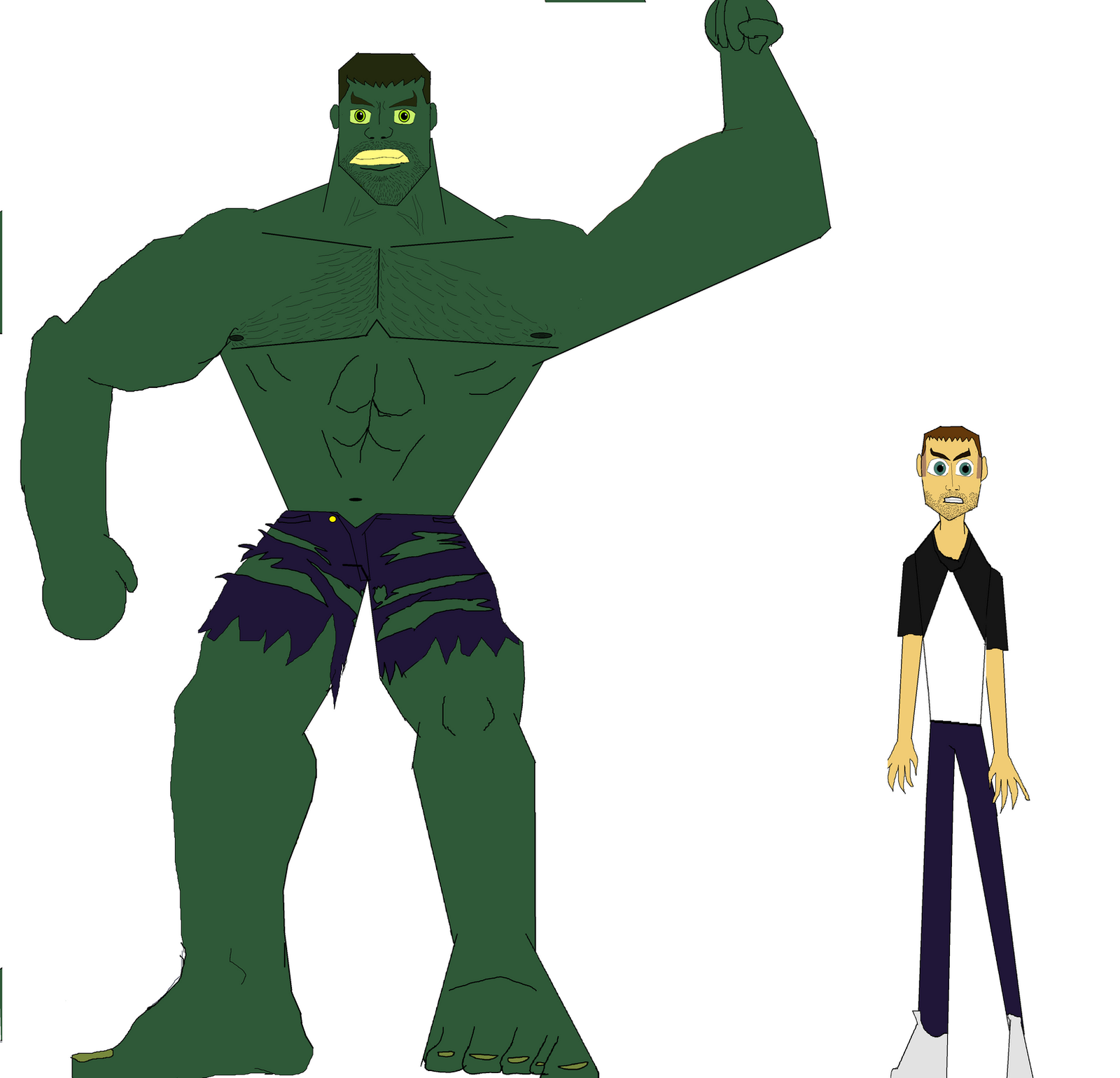 HAU Hulk height comparison by TheUltimateSpiderFan on DeviantArt