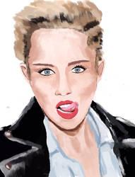 Miley cyrus by LadyMechanikx
