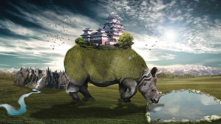 Roaming Rhino by LadyMechanikx