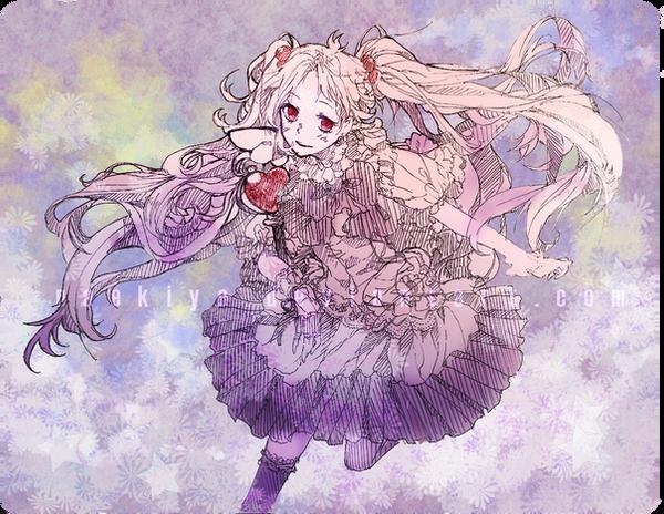 starry maiden by naekiyo