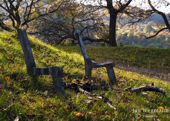 Where's the bench? by Herbsthauch