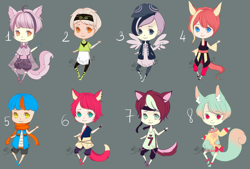 Big Batch 2 [ SET PRICE ][OPEN] by Dehybi-Adopts