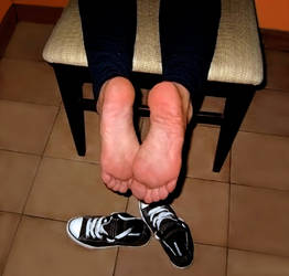 My feet fresh out of smelly sneakers 04 by piaslave