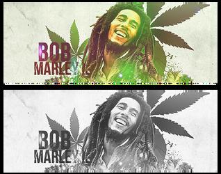 Bob Marley by Grinchuka