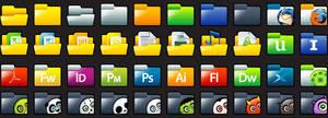 Sleek XP: Folders Full Preview