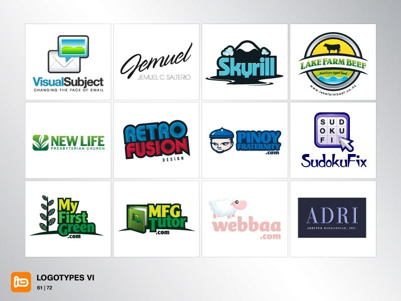 Logotypes VI by deleket