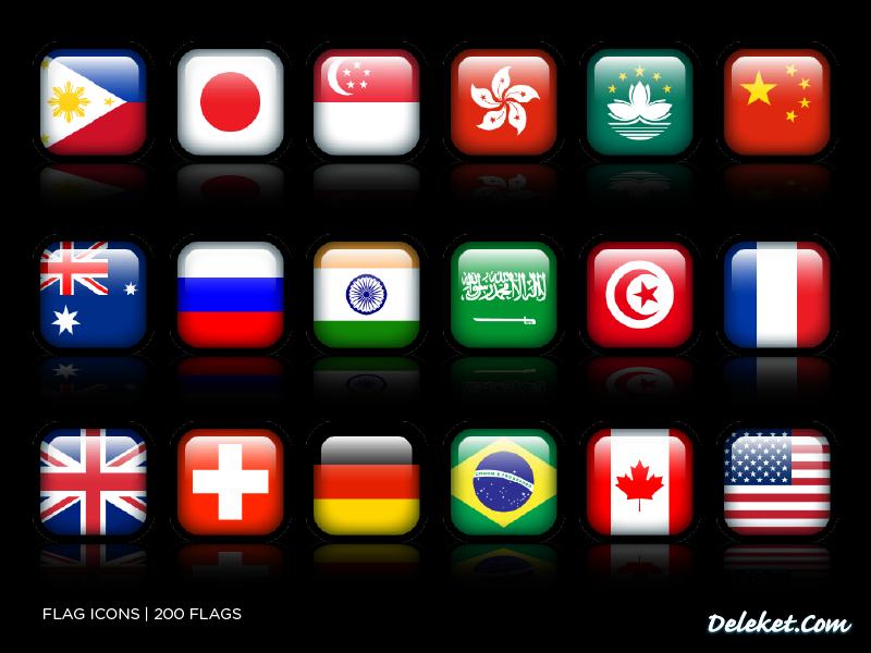 Flag Icons by deleket