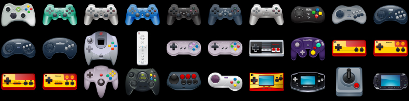 Gaming Icons Full Preview