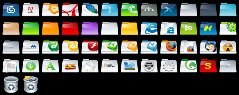 Folder Icons Full Preview by deleket