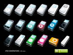 iPod Generations Icons