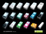 iPod Generations Icons