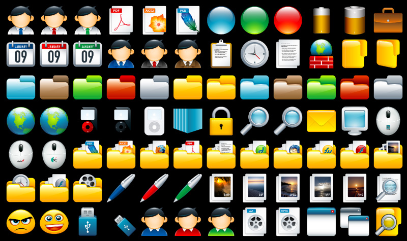 Scrap Icons Full Preview by deleket