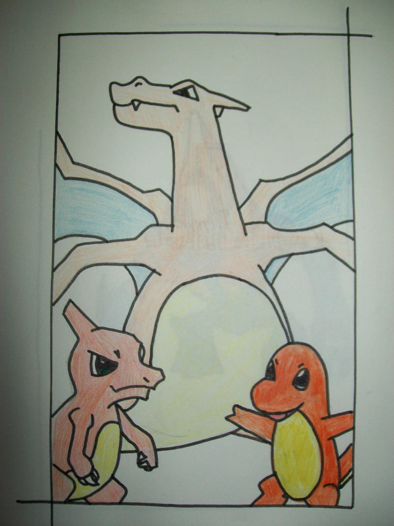 pokemon charmander evolution