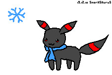 ley's umbreon by snorasaurus
