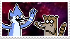 regular show stamp by snorasaurus