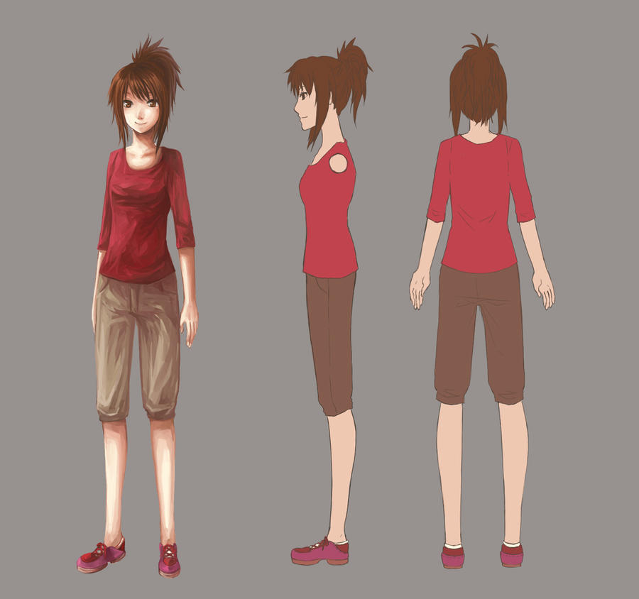 Color In Character Design : Color character design by lavypoo on deviantart