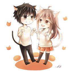 CM : Kouhei and Mitsuki by Lavypoo