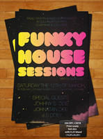 Funky Space Club Posters by ibRC
