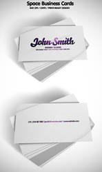 Space Business Cards by ibRC