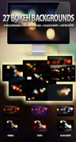 27 Bokeh Backgrounds Set by ibRC