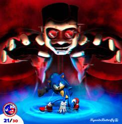 21. Sonic x Dr. Robotnik movie illustration