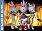 Blaze the Cat Commissioned by imago3d