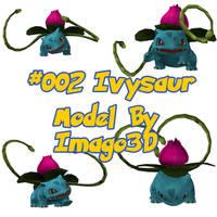 002 IvySaur by imago3d