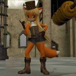 Steam Punk Anime Fox