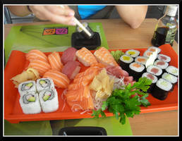 Sushi and Sashimi by DeadboltX
