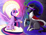 MLP - Twibra - Princess and King