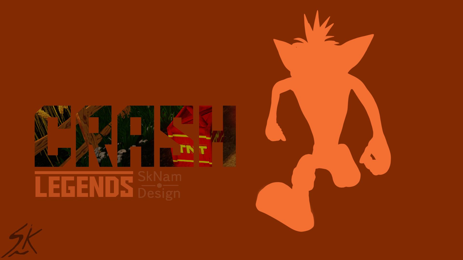 crash bandicoot wallpaper by scrashman3800 on deviantart
