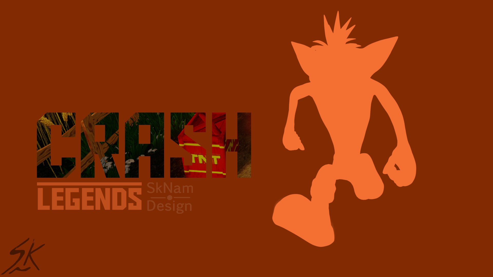 Crash Bandicoot Wallpaper by
